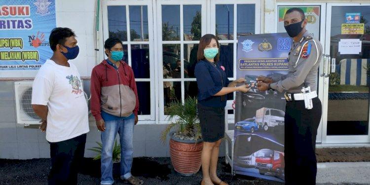 Sat lantas Polres Kupang luncurkan 140 rekening bansos bagi pekerja informal
