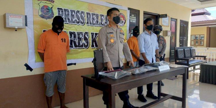 Kembali, !!!  Sat Reskrim Polres Kupang berhasil ungkap dan amankan sindikat pencurian rumah kosong