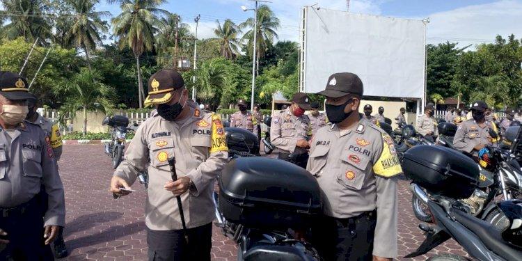 Kapolres Kupang, minta Bhabinkamtibmas selalu semangat melaksanakan tugas sebagai Polisi terdepan di masyarakat