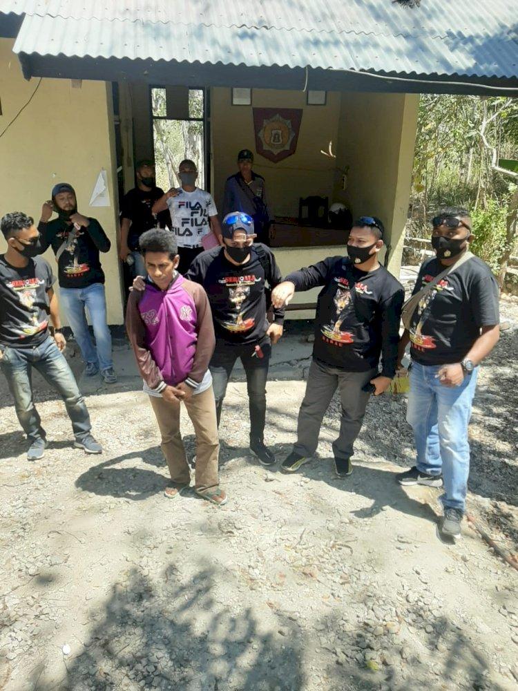 Kasat Reskrim Polres Kupang Pimpin Tim Srigala Tangkap Pelaku Penganiayaan