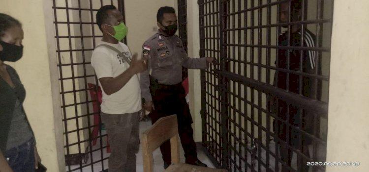 Pelaku Penganiayaan Seorang Warga Negara Timor Leste  Diamankan Polsek Kupang Timur