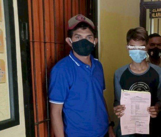 Polsek Kupang Tengah Tangkap Pelaku Pembobol Kios Sembako