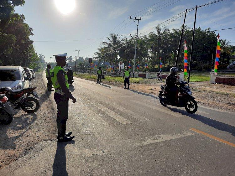 Kasat Lantas Polres Kupang, Nasehati Pelanggar Lalu Lintas