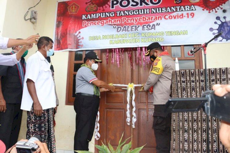 Kapolres Kupang resmikan kampung tangguh nusantara