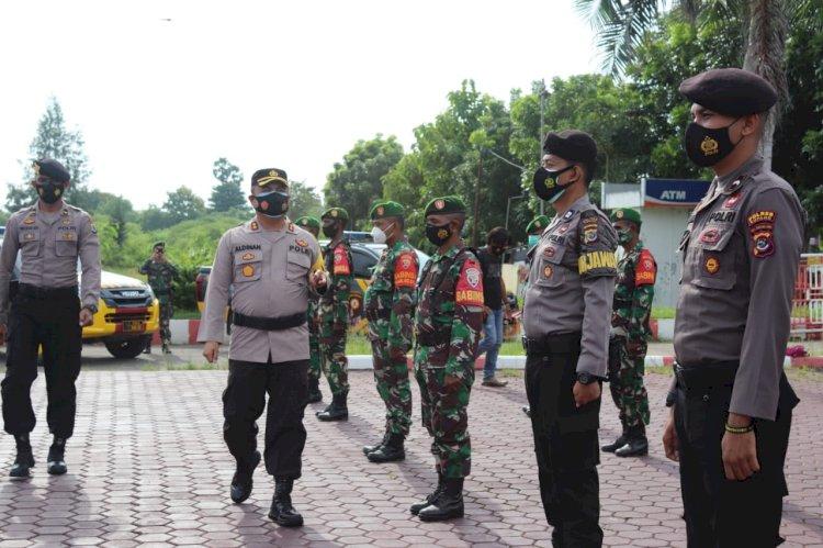 Polres Kupang Gelar Apel Kesiapan Penanggulangan Bencana Karhutla