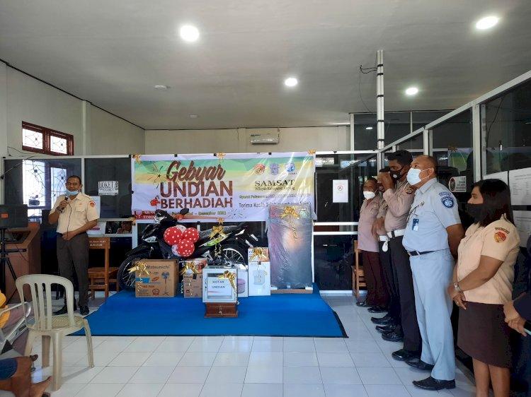 Sat Lantas Polres Bersama Samsat Kabupaten Gelar Gebyar Berhadiah