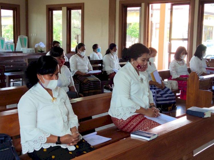 Wujud Rasa Syukur  Bhayangkari Cabang Kupang Gelar Doa Bersama