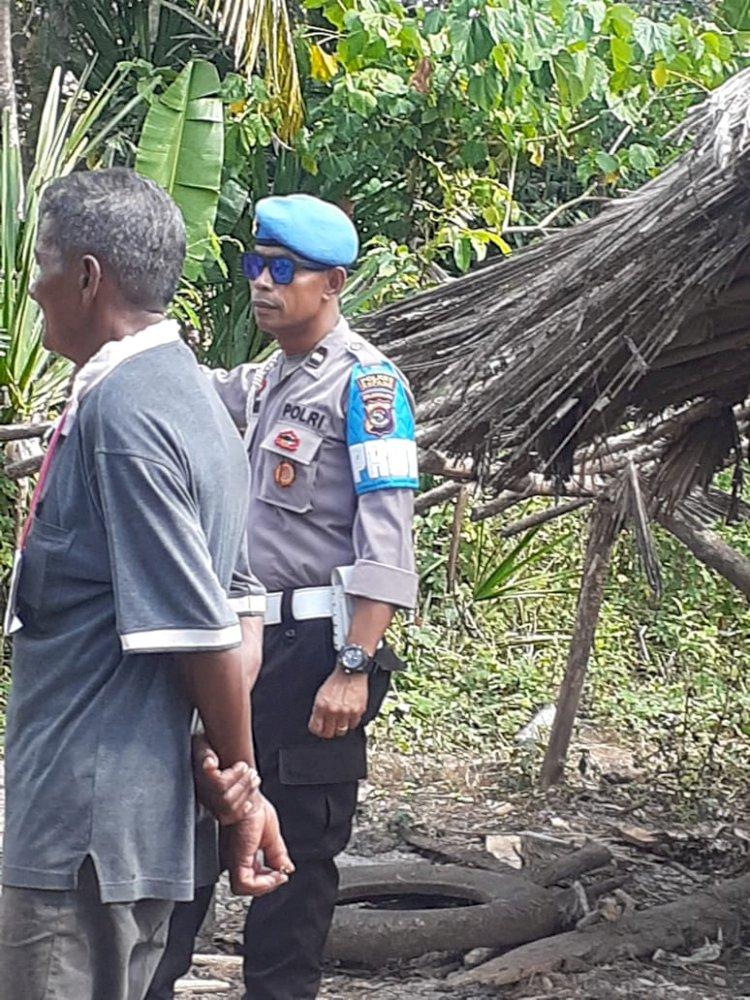 Polsek Kupang Timur Gelar Rekontruksi Kasus Pembunuhan
