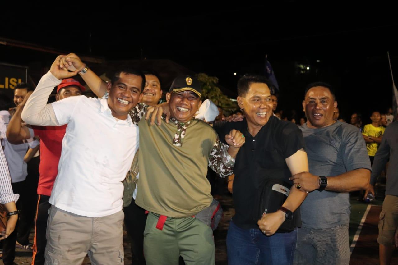 Keluar sebagai juara 1 turnamen bola voli putri peringati HUT Brimob 74, Kapolres Kupang sampaikan terima kasih
