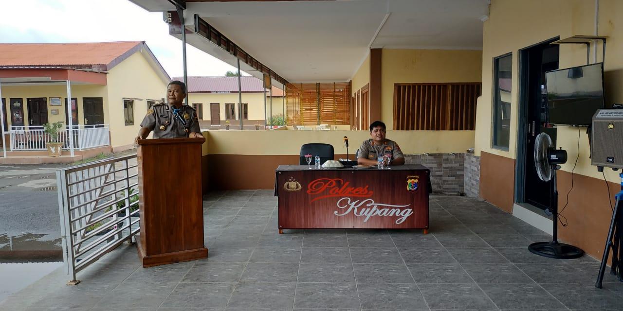 Karo SDM Polda NTT, bersilaturahmi dengan personil Polres Kupang