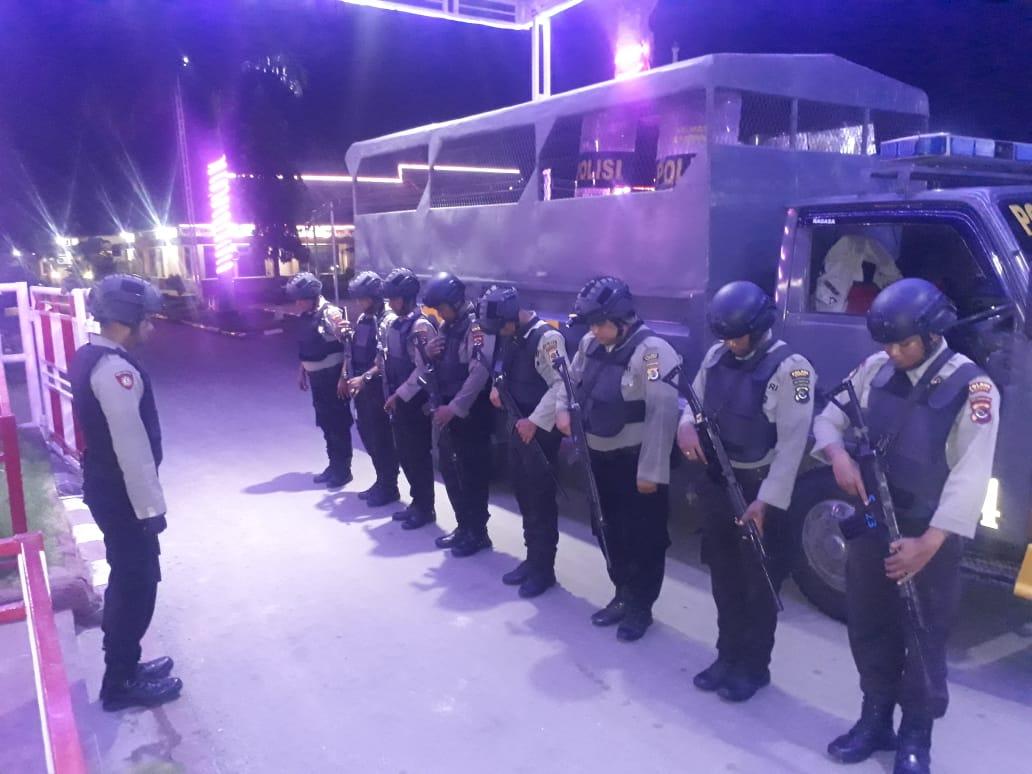 Cegah terjadinya aksi kriminalitas Sat Sabhara Polres Kupang rutin lakukan patroli malam