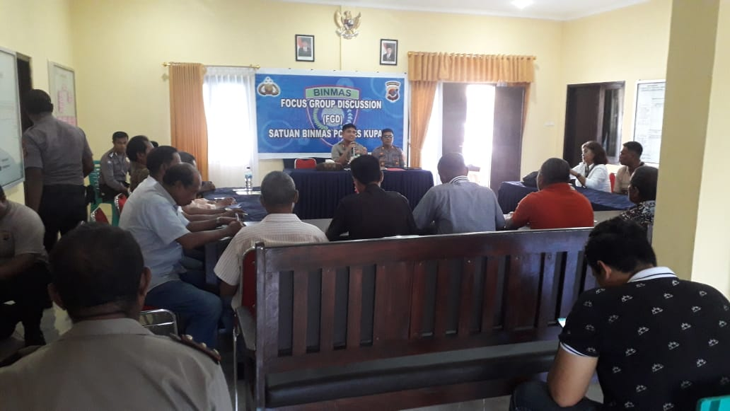 Sat Binmas Polres Kupang,bentuk kelompok sadar kamtibmas (pokdar)