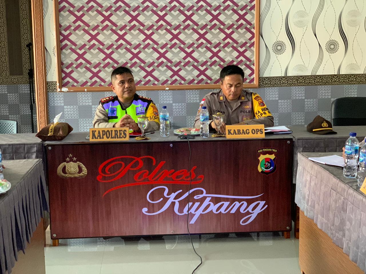Kapolres Kupang perintahkan Satgas Gakkum awasi dana penanggulangan covid-19 di Kabupaten Kupang