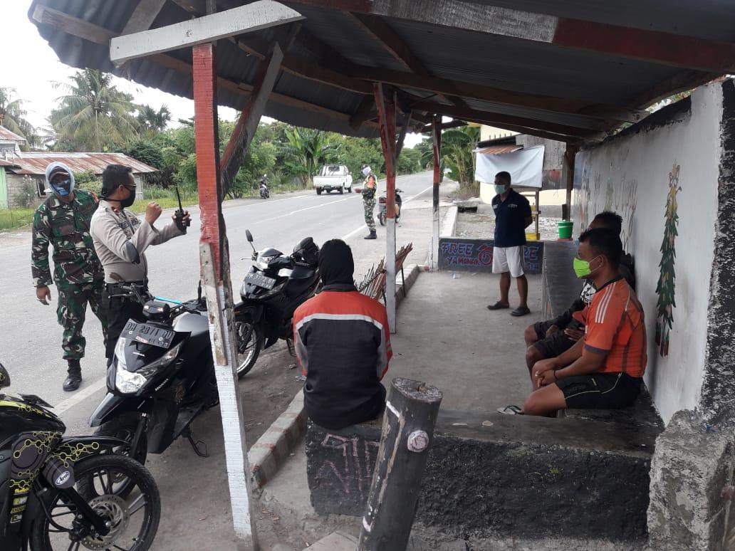 Situasi kamtibmas aman, IPDA Ferry, Sampaikan ke warga Manusak segera  laporan Polisi kalau ada masalah